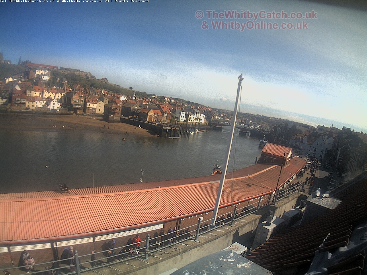 Whitby - Looking up the river.