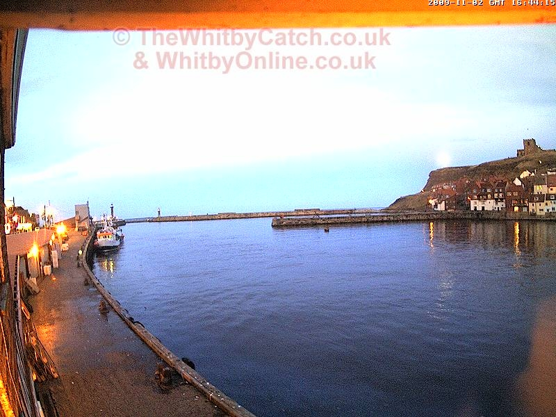 Another moonlit Whitby evening