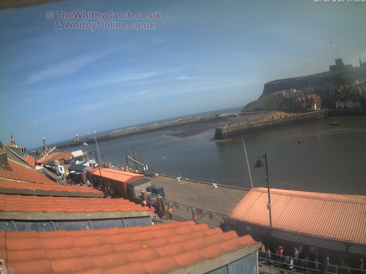 Whitby Sun 30th April 2017 12:30.