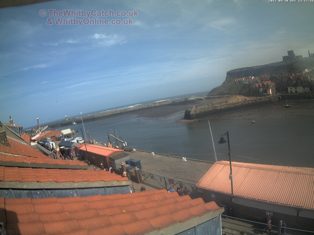 Whitby Sun 30th April 2017 13:13.