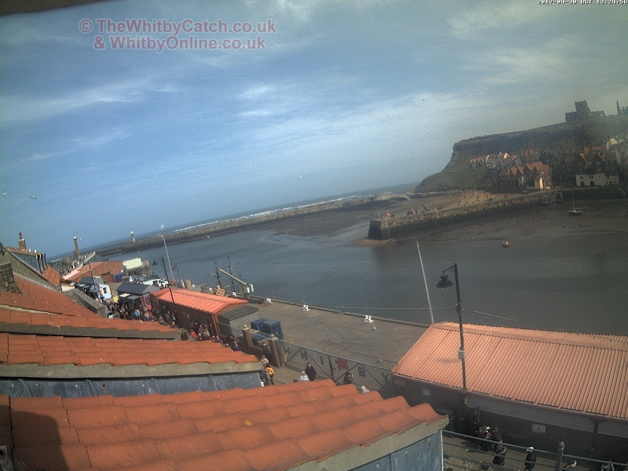 Whitby Sun 30th April 2017 13:25.