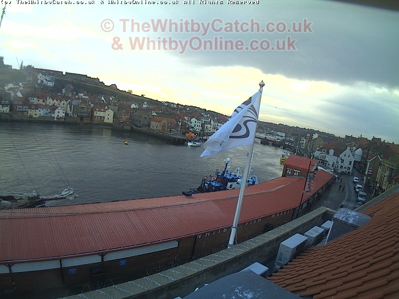 Unknown Yacht Leaves Whitby